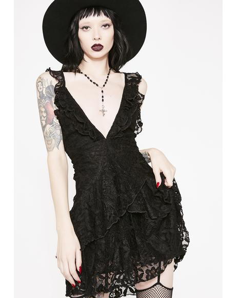 Love You And Leave You Lace Dress