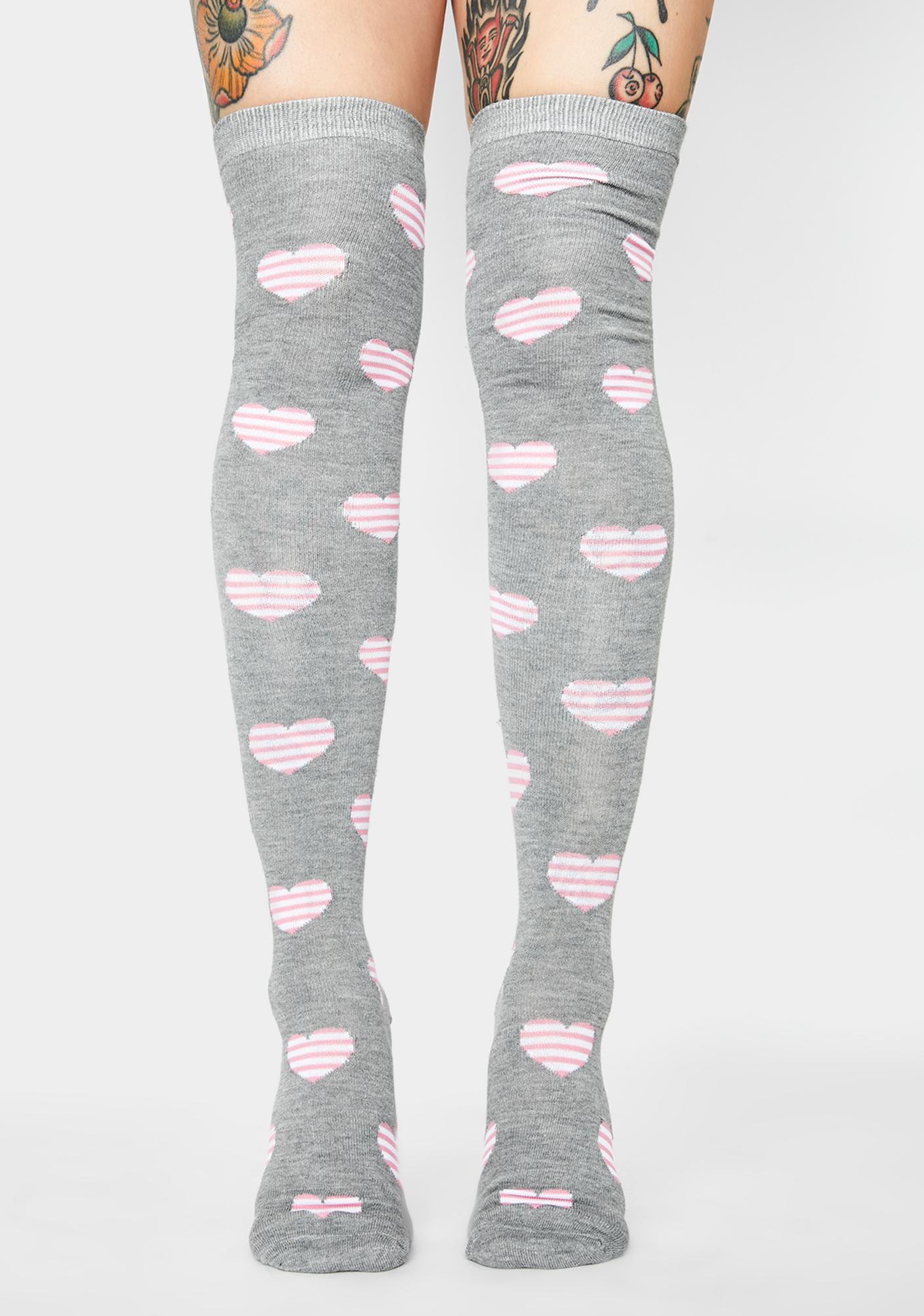 Passion Phreak Heart Socks