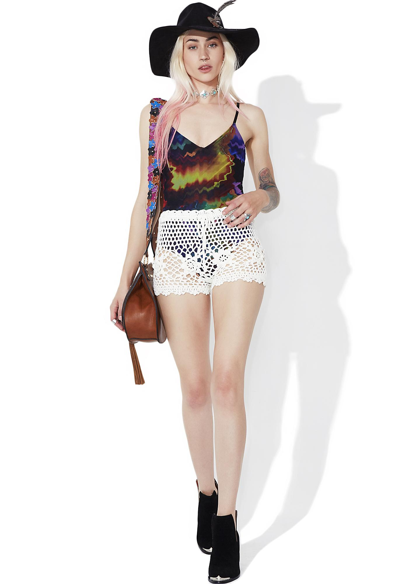 Stillwater Crochet Shorts