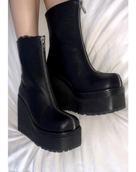 Run This Town Platform Boots