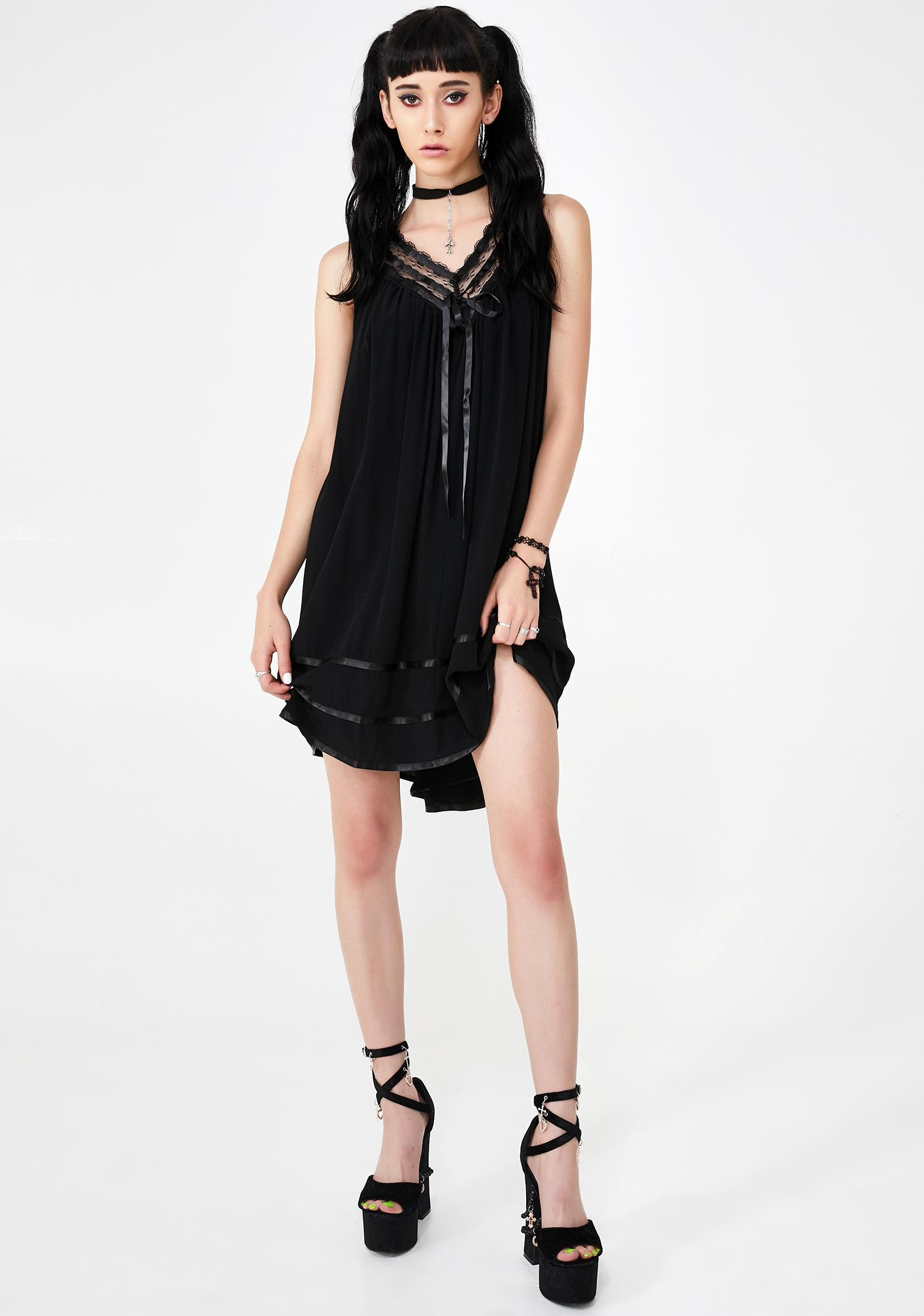 Widow Deadicated Babydoll Dress