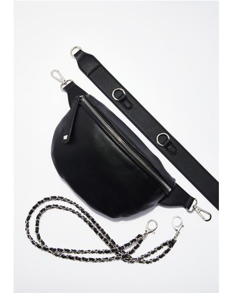 Taking Trips Chain Waist Bag