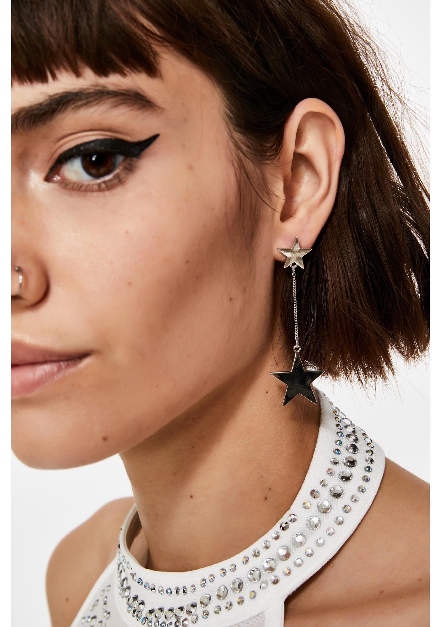 Wish Come True Star Earrings