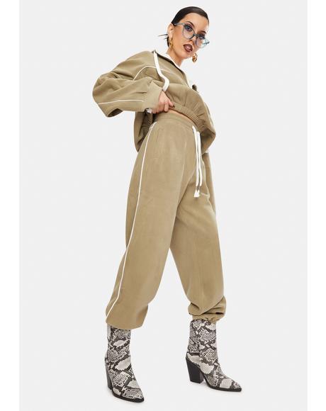 Olive Roxanne Sweatpants