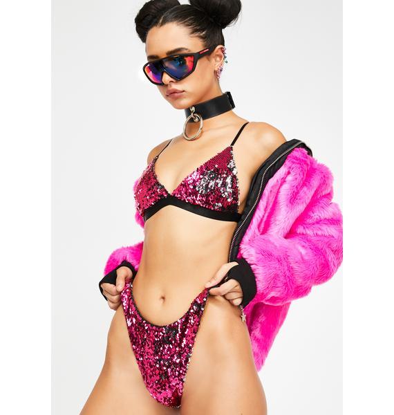 Club Exx Hot Pixie Playroom Sequin Bottoms