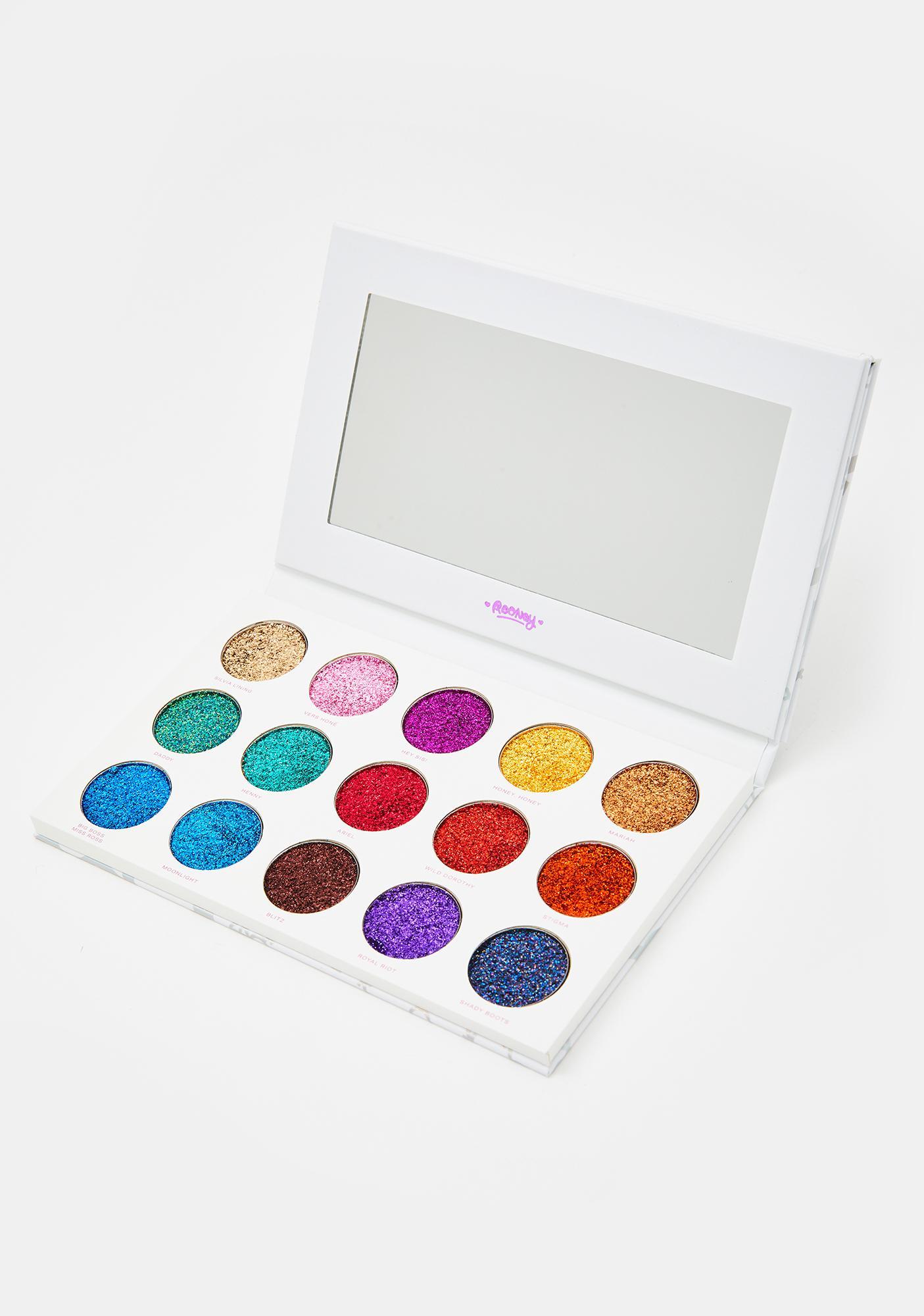 HipDot Legendary Glitter Eyeshadow Palette