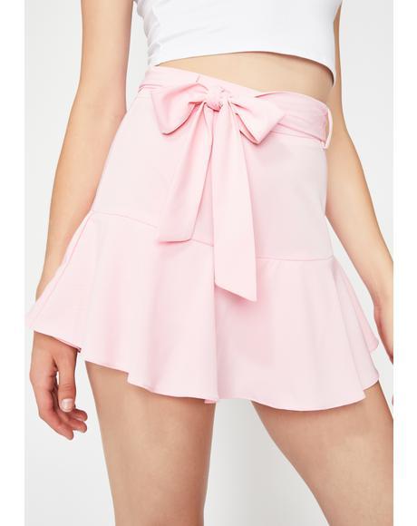 Cute Confessions Mini Skirt