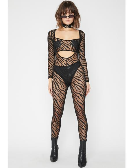 Sickening Safari Sheer Set