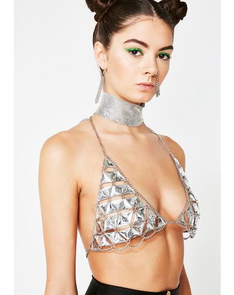 Iced Gem Drop Top Bralette
