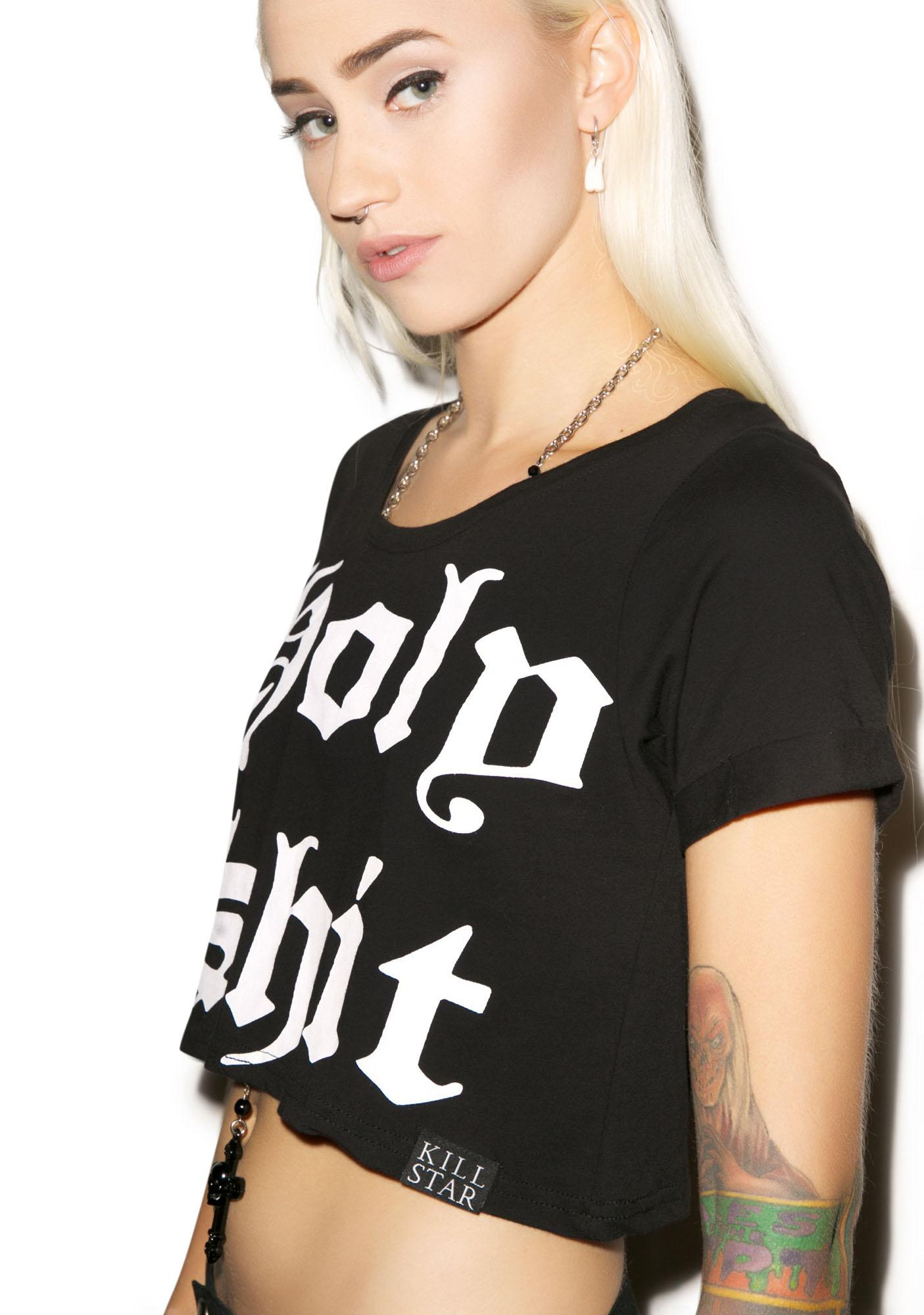 Killstar Holy Crop Tee