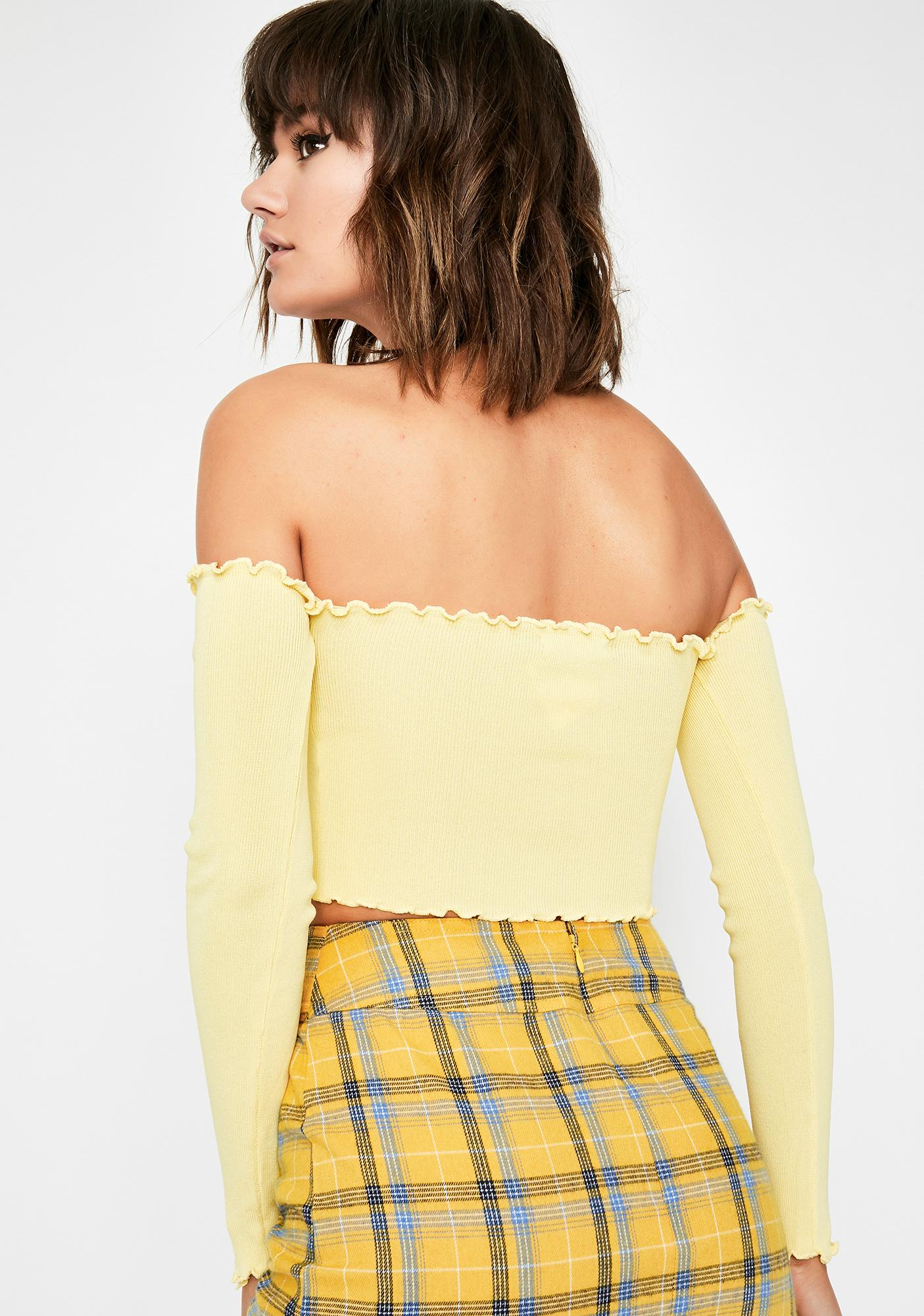 Sunny Twice As Nice Crop Top