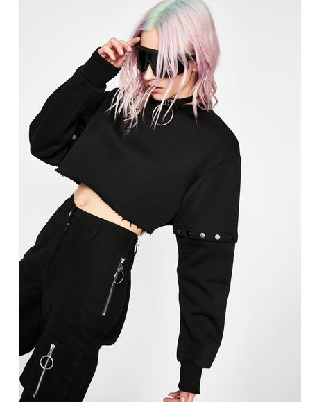 Fatal Encounter Convertible Sweater