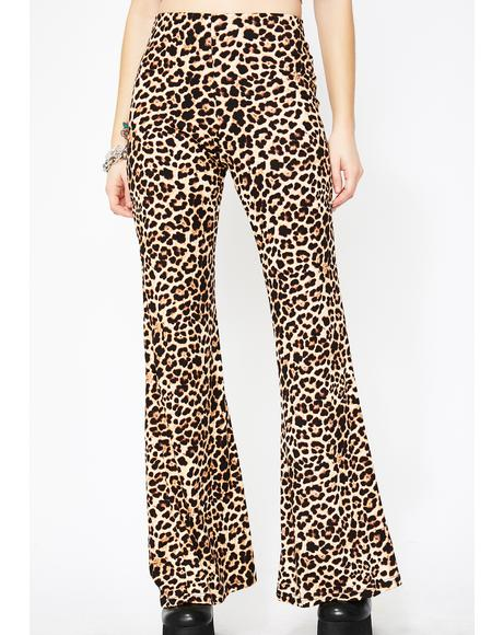 Cadet Kitty Leopard Pants
