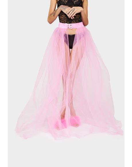 Not An Angel Tulle Skirt
