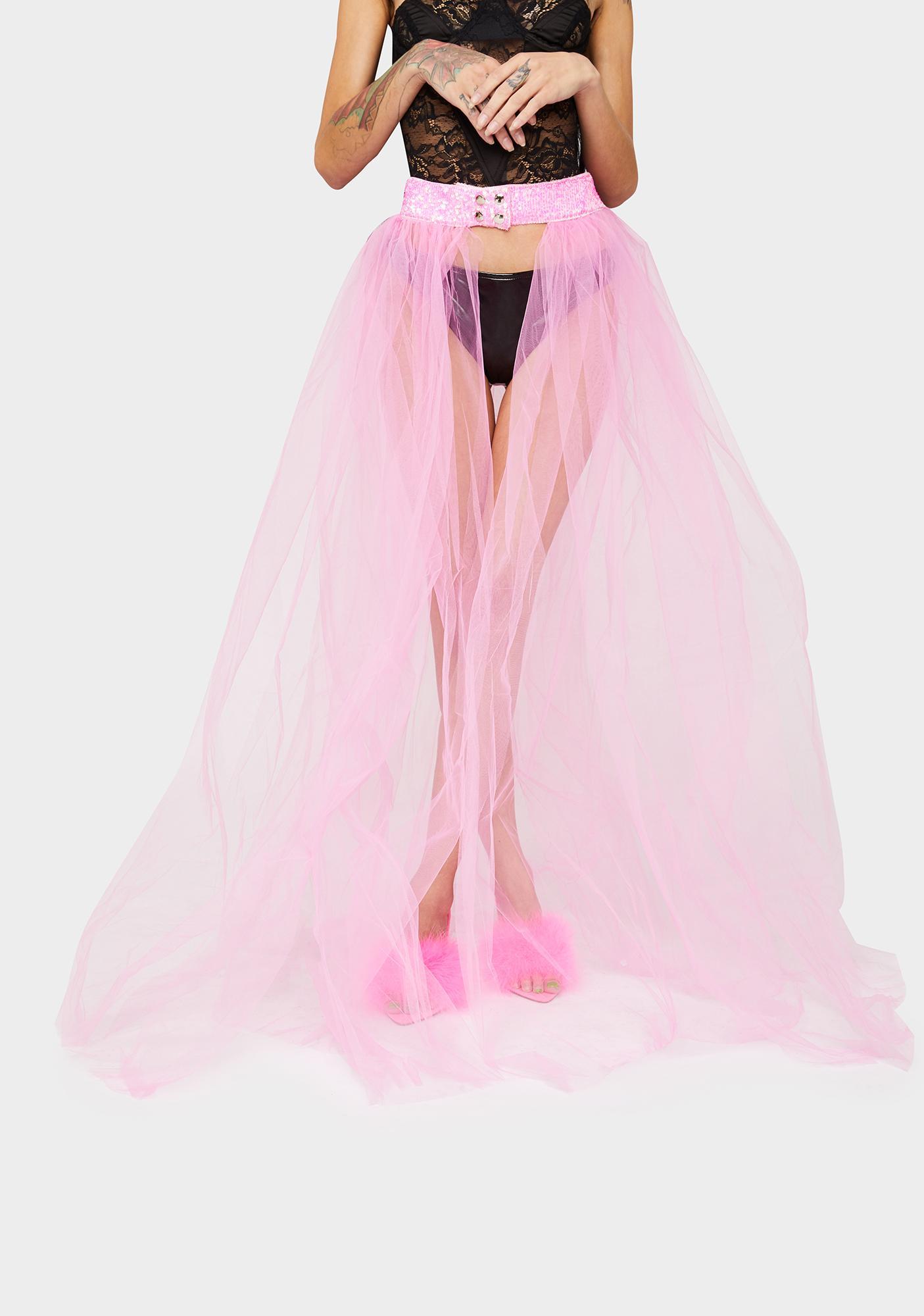 Not An Angel Tulle Skirt