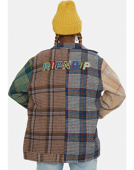 Roygbiv Plaid Jacket
