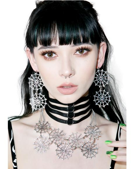 Webbed Collar Necklace