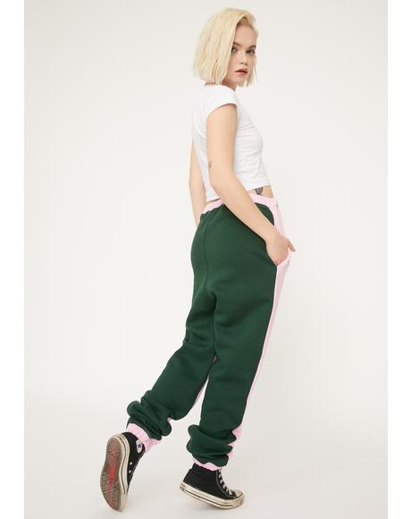 Half And Half Relaxed Joggers