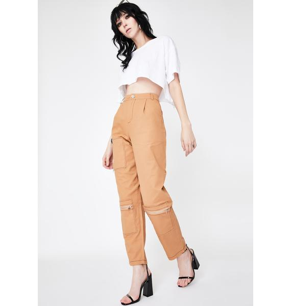 Daisy Street Patch Pocket Combat Trousers