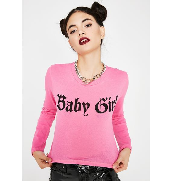 Candy BB Girl Long Sleeve Top
