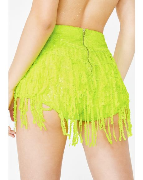 Neon La Bamba Hot Pants