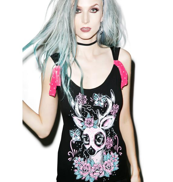 Too Fast Day Of The Dead Deer Top