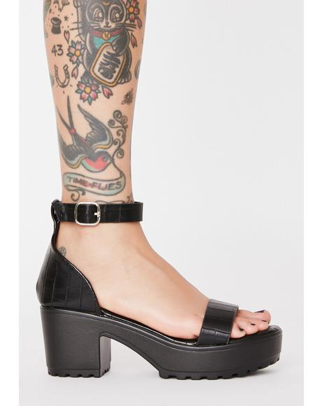 Get Around Platform Sandals