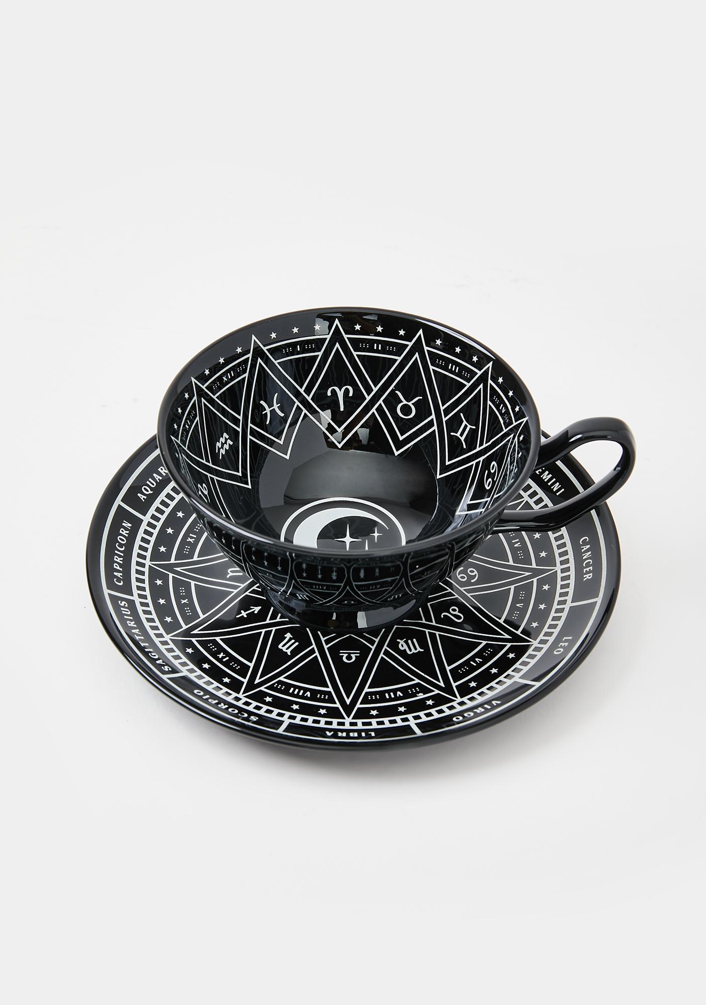 Killstar Zodiac Cup N' Saucer