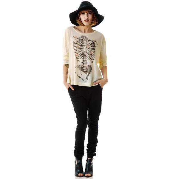 Wildfox Couture Daisy Bones Rainy Beach House T