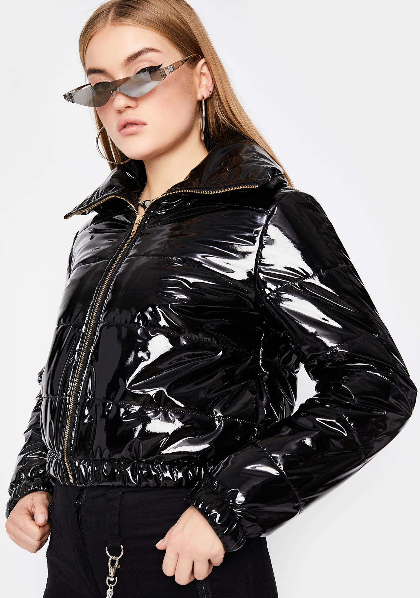 Onyx What's Really Good Puffer Jacket
