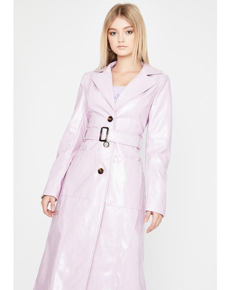 Drama Addict Trench Coat