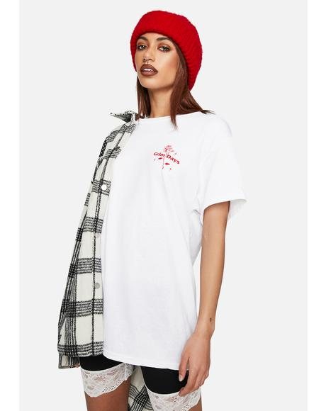 Crying Graphic Tee
