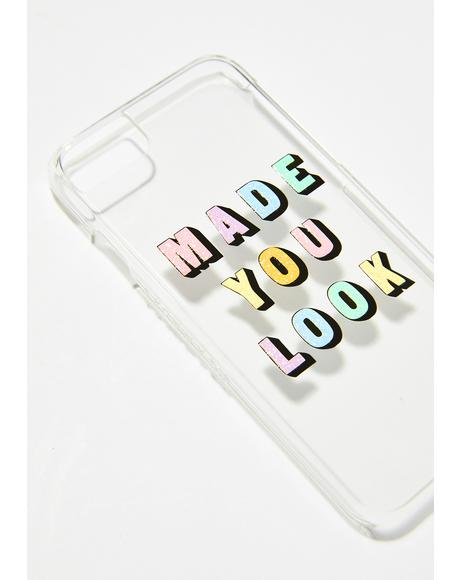 Made You Look iPhone Case