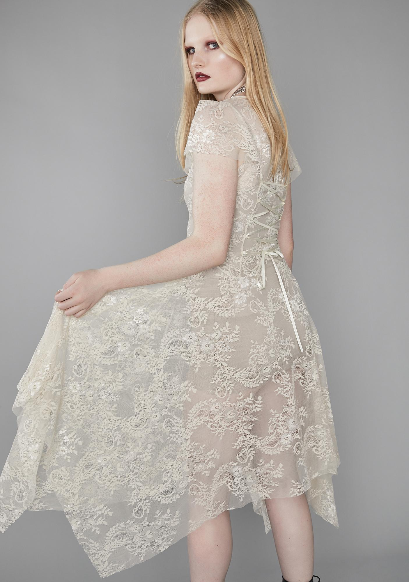 Widow Dearly Departed Lace Dress