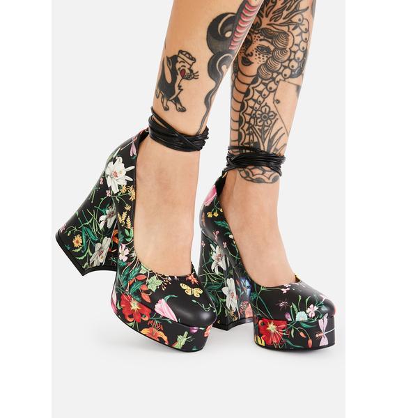 Lamoda Lush & Lavish Platform Heels