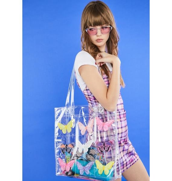 dELiA*s by Dolls Kill Shop Til U Drop Tote Bag