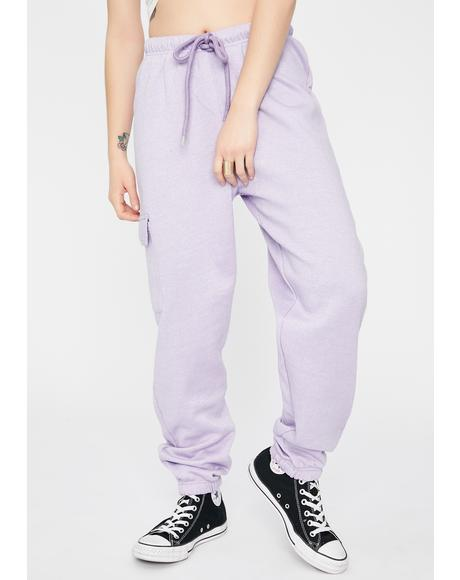 Cargo Pocket Jogger Sweatpants
