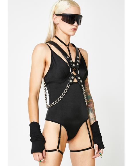 Boomin' Blackhole Harness Bodysuit