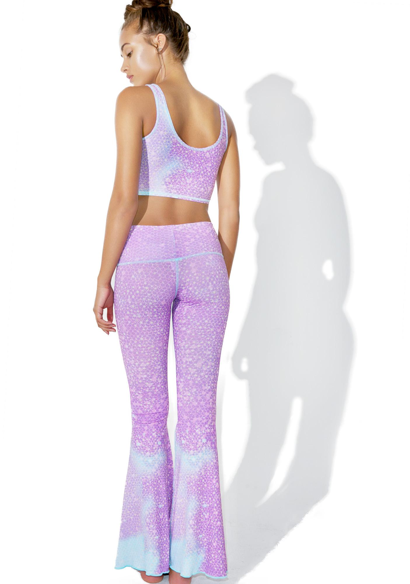 TEEKI Mermaid Fairyqueen Bell Bottoms