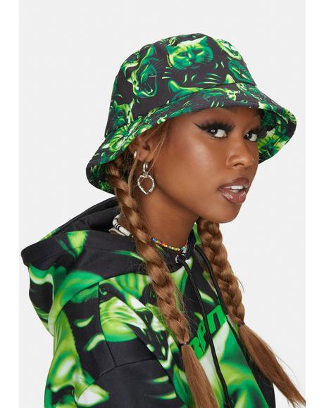 Neon Nerm Bucket Hat
