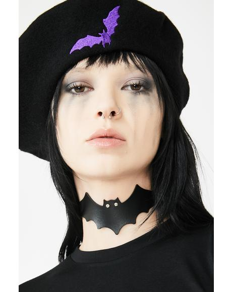Bat To The Bone Choker