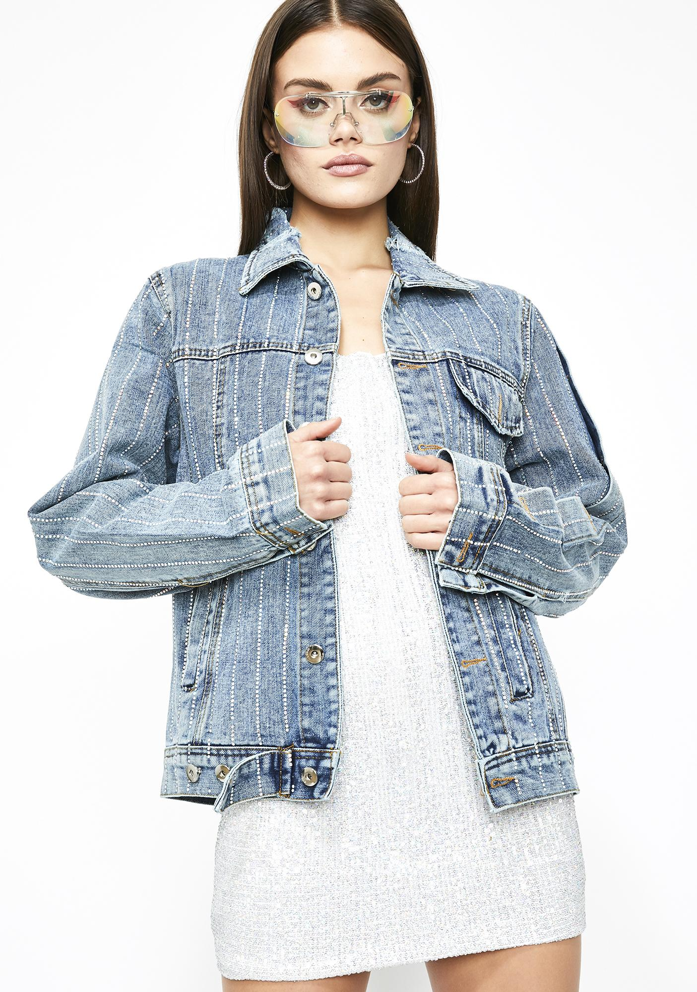 Bling Bling Denim Jacket