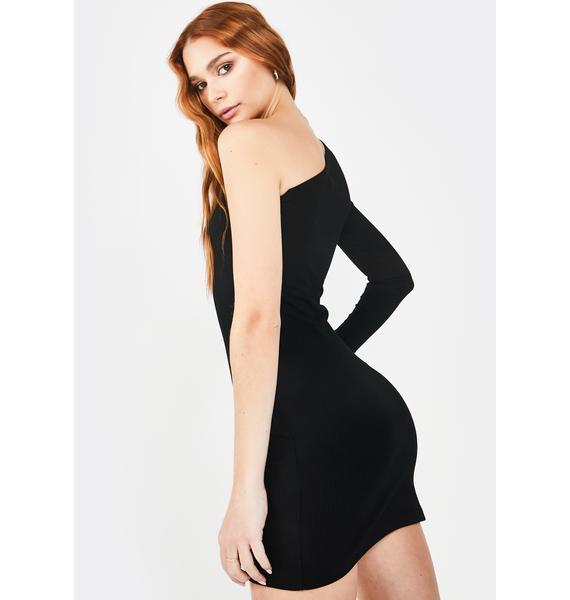 She is Us Selena One Sleeve Dress