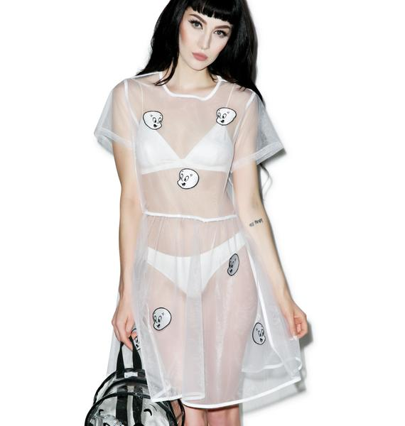 Lazy Oaf X Casper Sheer Dress