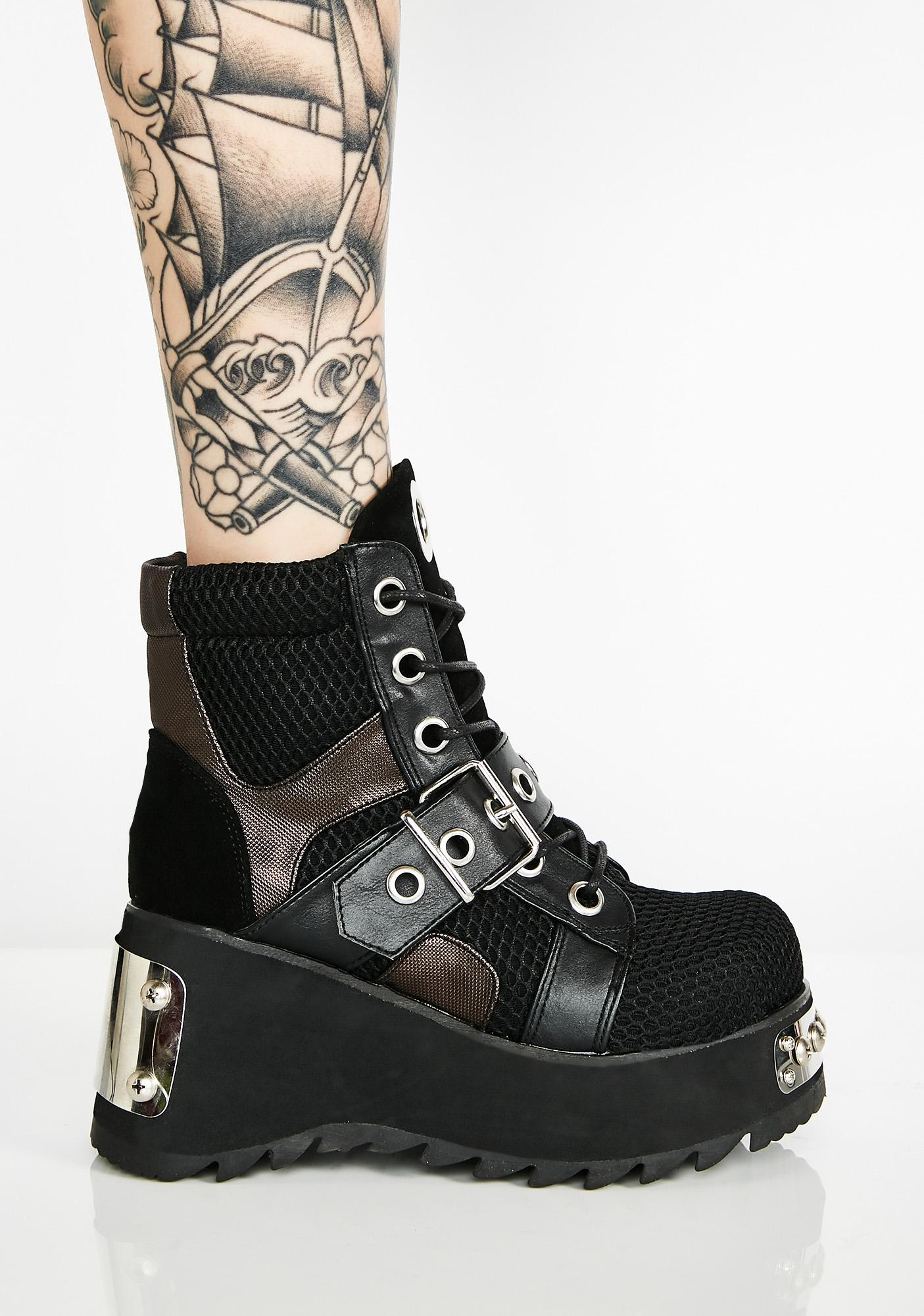 Demonia In High Demand Platform Boots