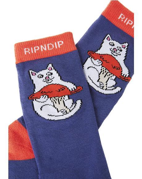 Nermshroom Socks