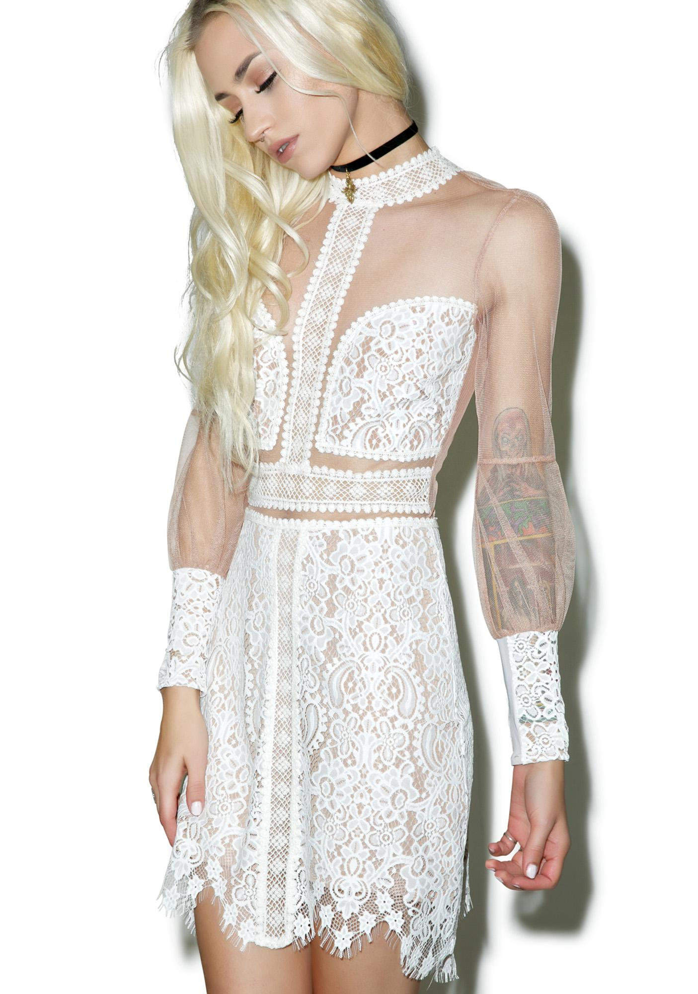 For Love & Lemons Vivian Mini Dress