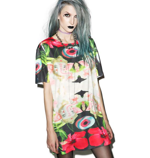 Asian Smoke Oversized Tee