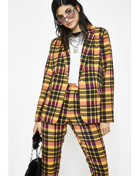 Punk Habits Plaid Set