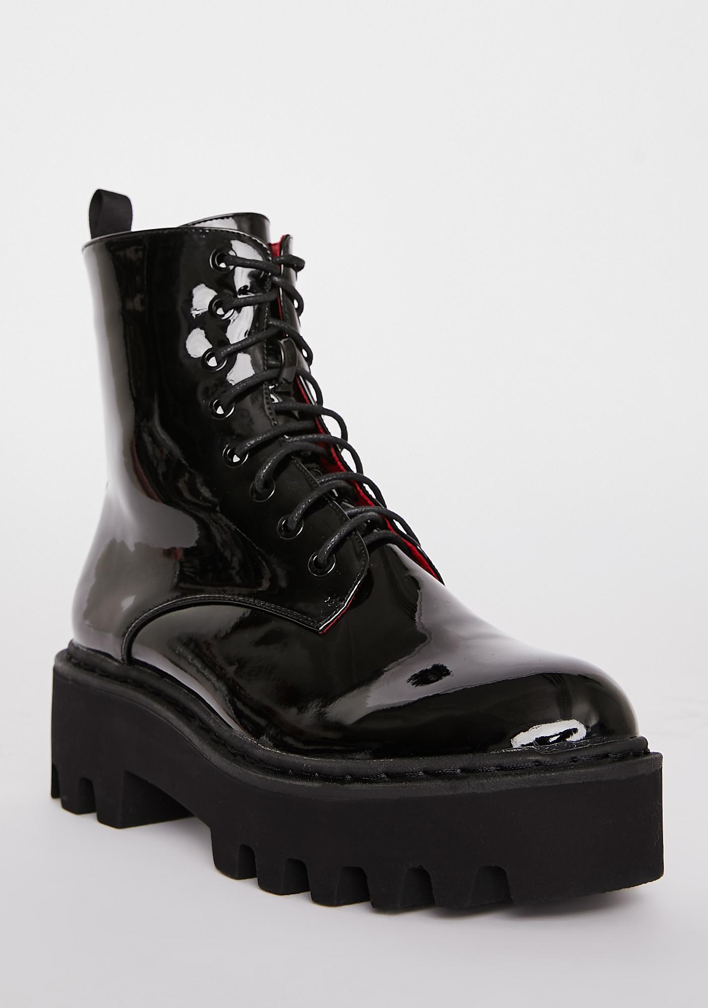 Lamoda Unforgiven Foe Ankle Boots